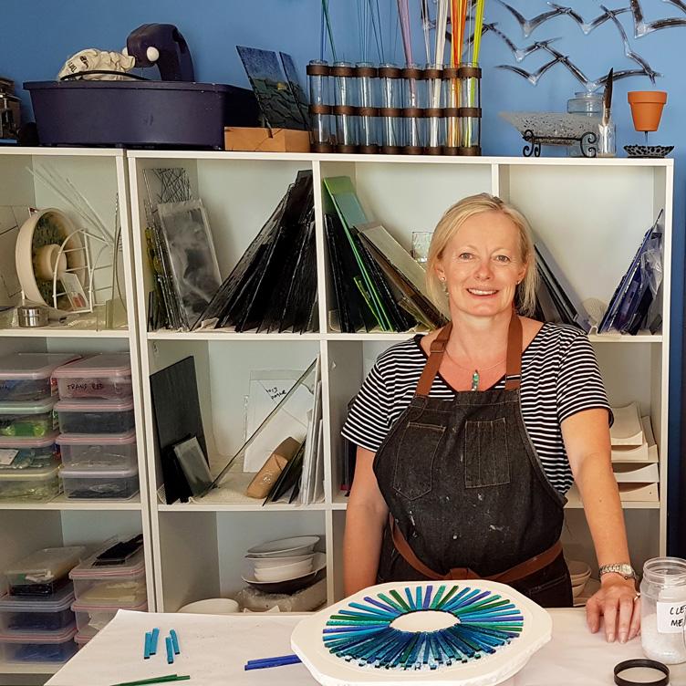 Capturing light, capturing creativity - glass artist Roz Speirs on discovering her medium