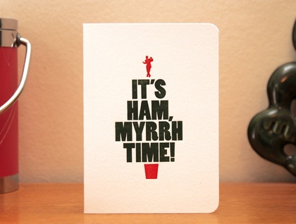 It's Ham, Myrrh Time!
