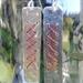 Sterling Silver Cross Stitch Earrings