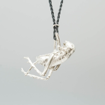 Weta pendant - sterling silver
