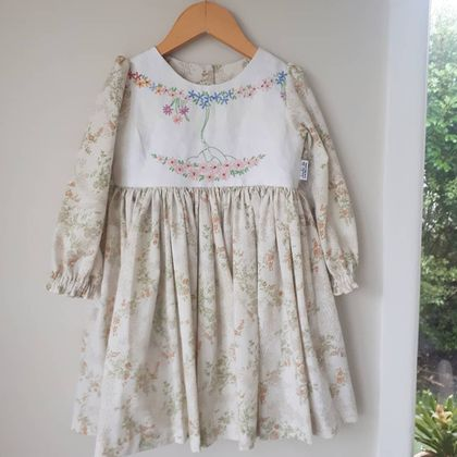 Vintage Charm Tea Party Dress- 3 years SALE