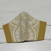 Size LARGE, Lace trimmed Face mask.