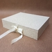 Oatmeal Keepsake Box / Photo Box (Flush edge)