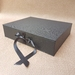 Black Keepsake Box / Photo Box (Flush edge)