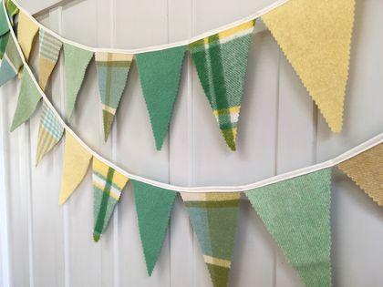 Bunting - 3 metres ! (Summer Green)