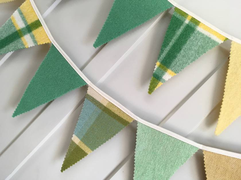 Bunting - 3 metres ! (Summer Green)