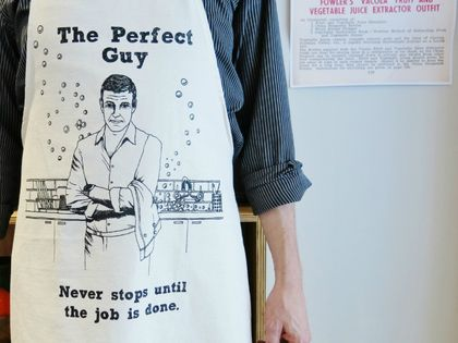 The Perfect Guy Apron