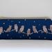 Owl print pencil case / glasses case