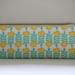 Yellow rose print pencil case / glasses case