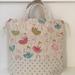 Ballerina print tote bag / lunch bag / nappy bag / lessons bag