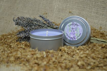 Lavender Tin Candle