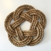 'In knots' Rope Trivet - large