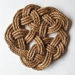 'In knots' Fancy Trivet
