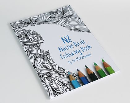 NZ Native Birds Colouring Book
