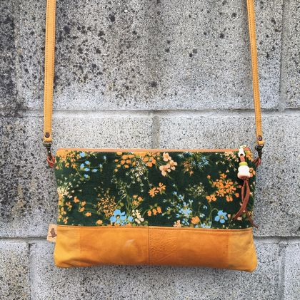Meadow & Leather Small Crossbody Bag