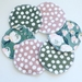 Reusable breast pads SET OF 3 PAIRS
