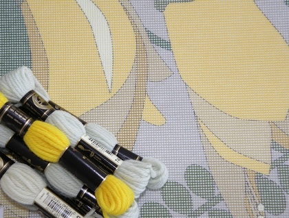 Kowhai Needlepoint Kit