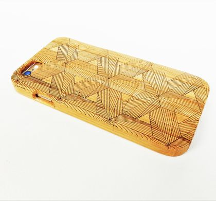 WOODEN PHONE CASE iPhone etched