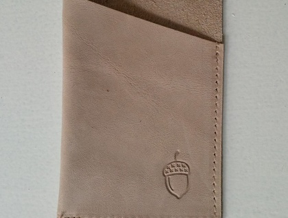Leather Credit Card Wallet (or small business cards)