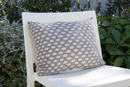 Sunday Drive Ahuriri Handwoven cushion