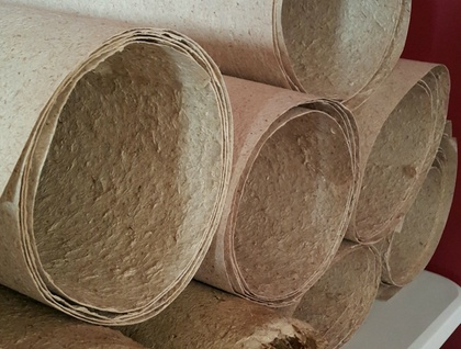 Organic Acid Free Flax Paper for Artists, 4 deckle edge or trimmed - size: 680mm x 960mm - 250 - 300 gsm