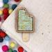 Lemon & Lime Ice Block Brooch ~ Modern DIY Embroidery Kit