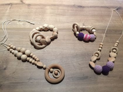 Natural Organic Teethers Combo for Baby & Mum!!