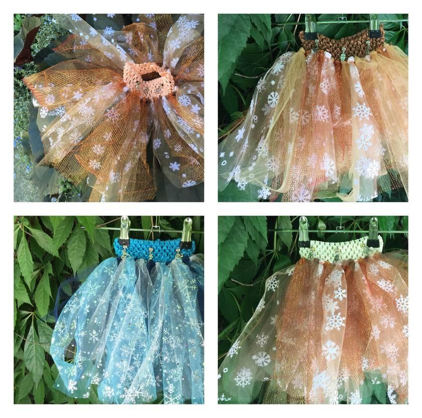 Fairy Tutu skirts. 6m-2yrs