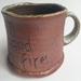 Wood Fired Stoneware:  Earth, Hand, Fire Mug 2