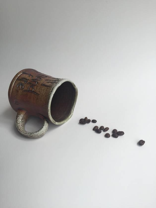 Wood Fired Stoneware:  Earth, Hand, Fire Mug 6