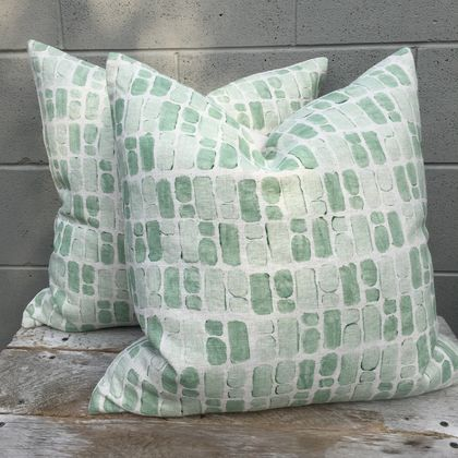 SALE * Pavers Linen Cushion