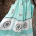 Vintage 50s  tablecloth dress