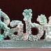 Baby - handmade polymer clay flowers