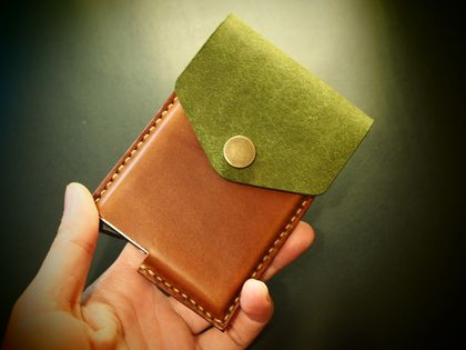 No.12 Picton Pop-Up Leather Card Wallet
