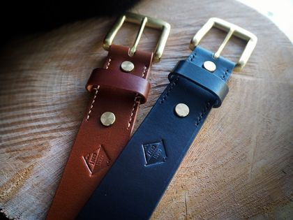 Coast Craft Leather Belt Brown Only