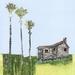 Chaffey's Hut Small Giclee Print