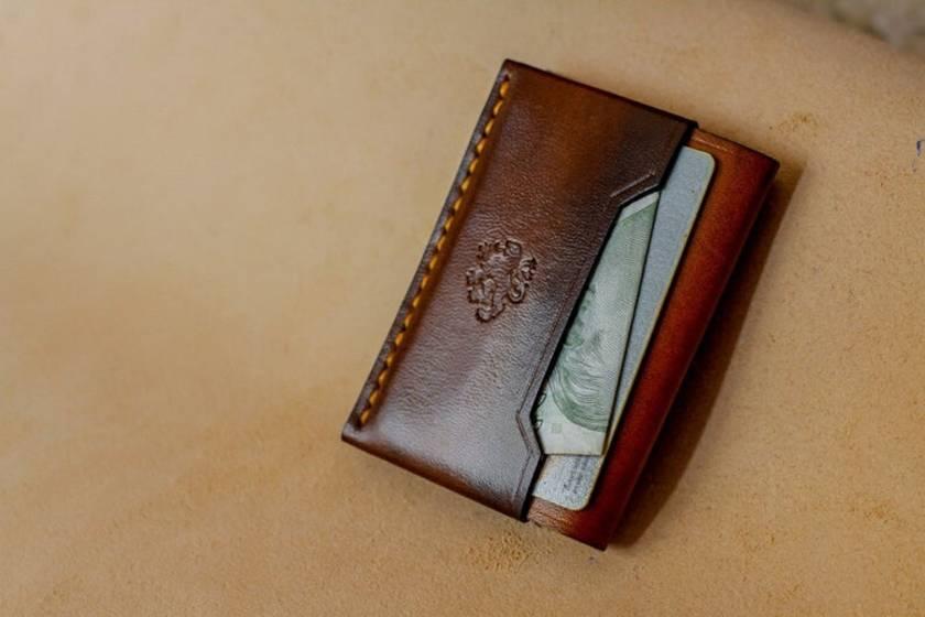 Agent Handmade Leather Cardholder