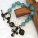 Pacific Opal Rosary Bracelet