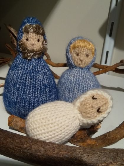 Puppet Family - Joseph, Mary and Baby Jesus