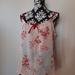 Vintage kimono silk camisole