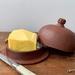 Handmade pottery Butterkeeper