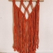 AWHINA - Orange wall hanging