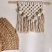 MARISHA - Natural macrame wall hanging