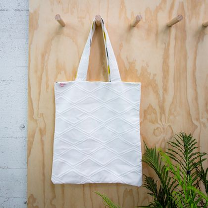 No Brand Bag - White tote bag