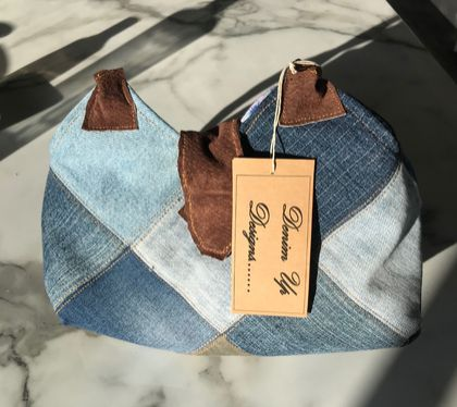 Upcycled Denim Hand Bag
